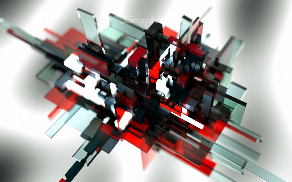 Red-Black-Glass